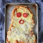 Halloween Ghost Pizzas