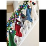 Recycled Sweater Christmas Stockings