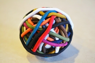 DIY Elastic Band Ball
