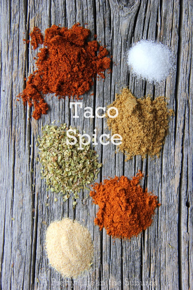 Make Your Own Taco Spice