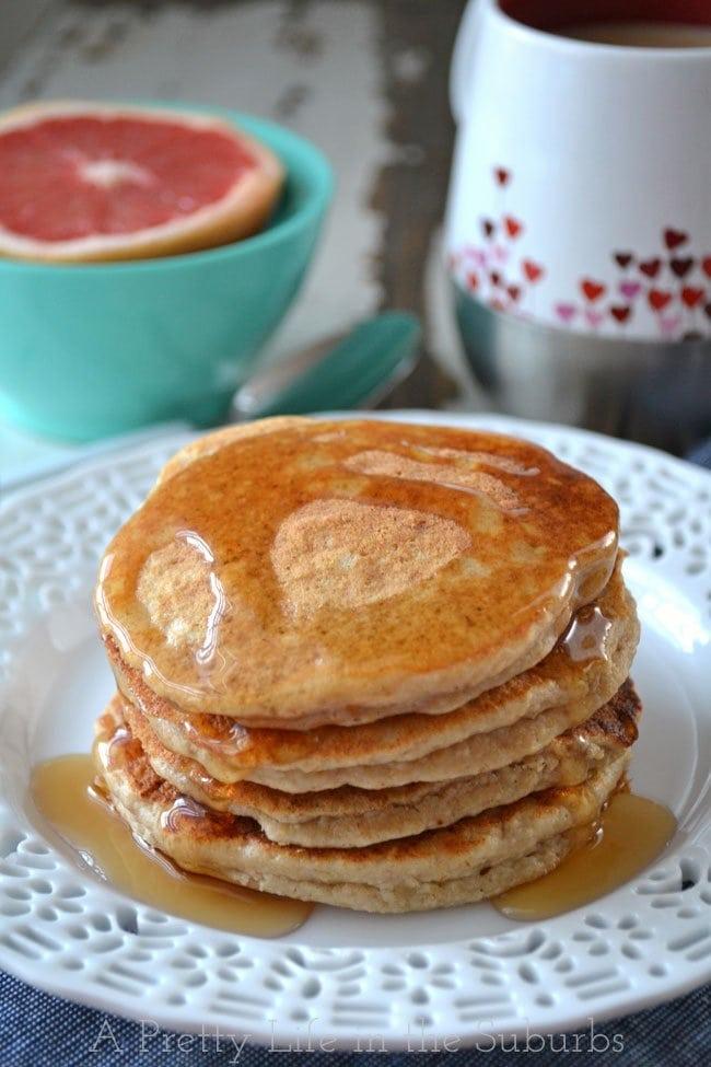Ricotta-Oat-Bran-Pancakes-{A-Pretty-Life}