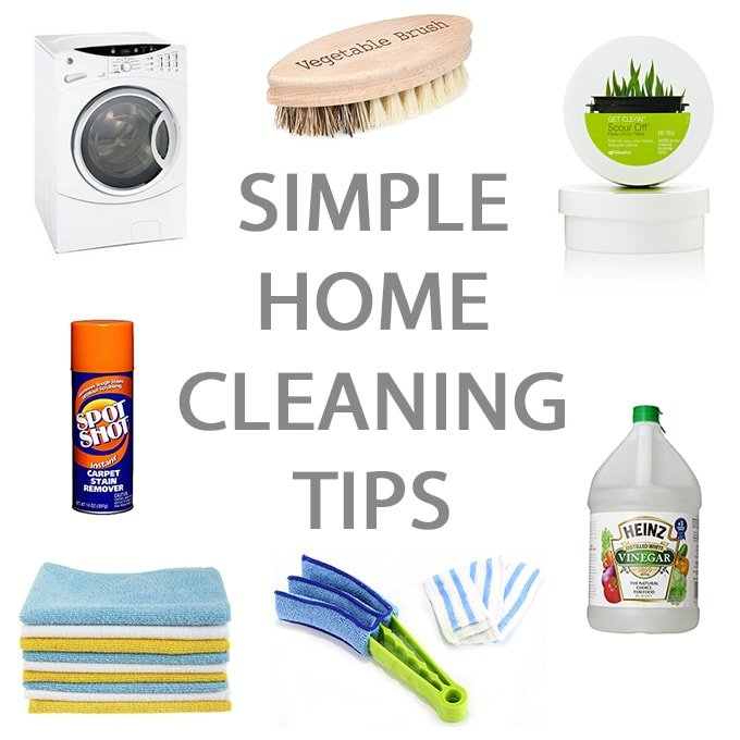 A pretty life in the suburbs home life made simple for Minimalist house cleaning