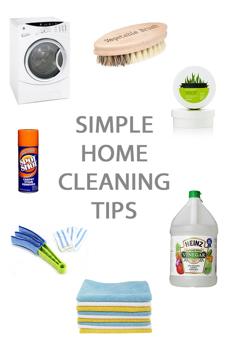 simple home cleaning tips a pretty life in the suburbs On simple home tips