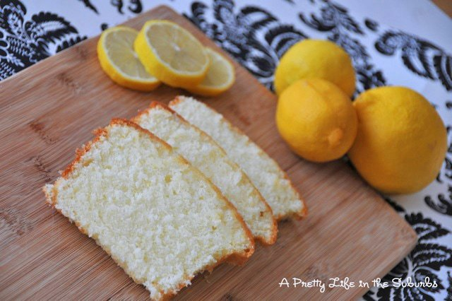 Luscious Lemon Loaf {A Pretty Life}