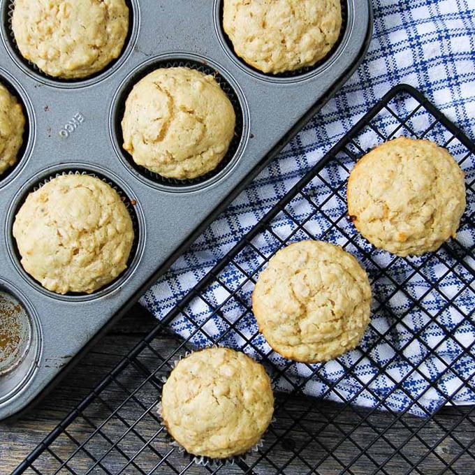 Mom's Oatmeal Muffins