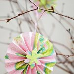 DIY Paper Accordion Flowers
