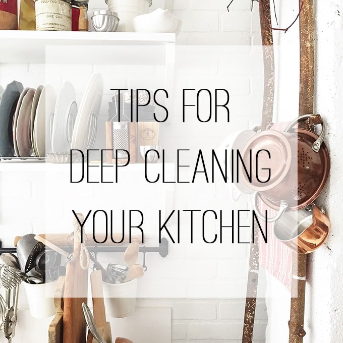 Kitchen Cleaning Tips: A Pretty Life In The Suburbs