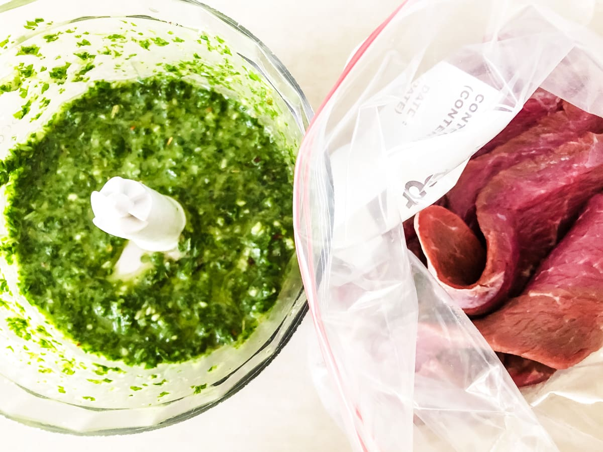 Chimichurri Steak Marinade