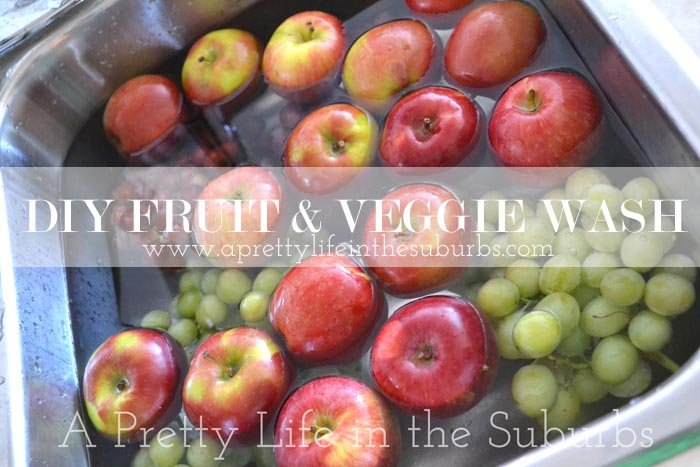 Kitchen Kapers: Diy Fruit & Veggie Wash - A Pretty Life In The Suburbs