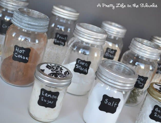 Pantry Jar Storage