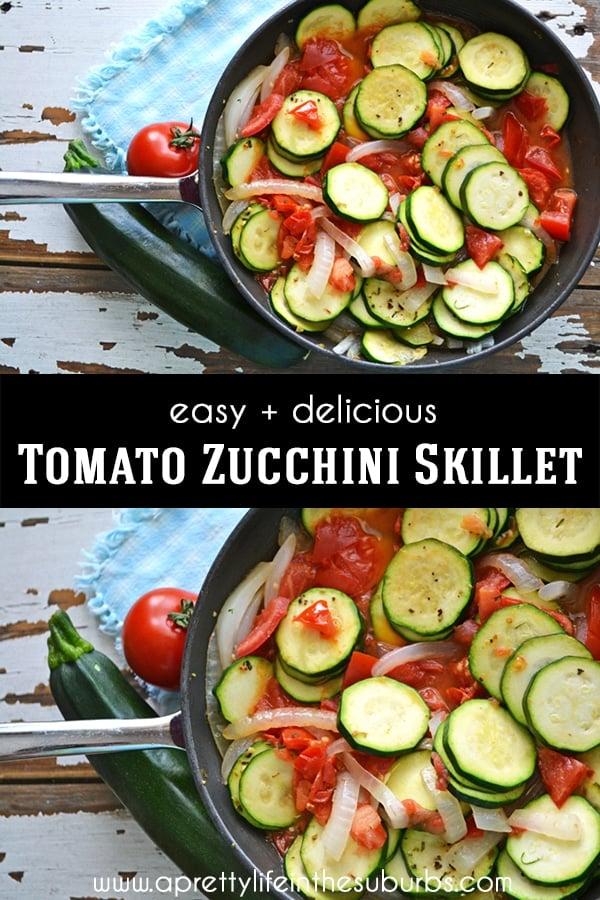 Tomato Zucchini Skillet