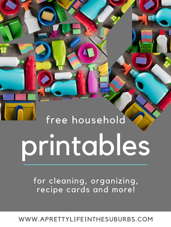 Free Household Printables