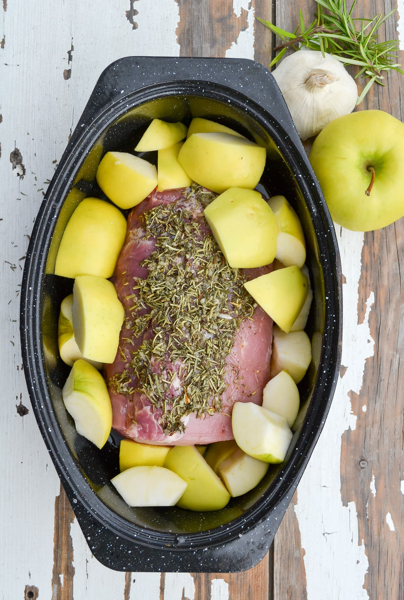 Garlic & Rosemary Roasted Pork