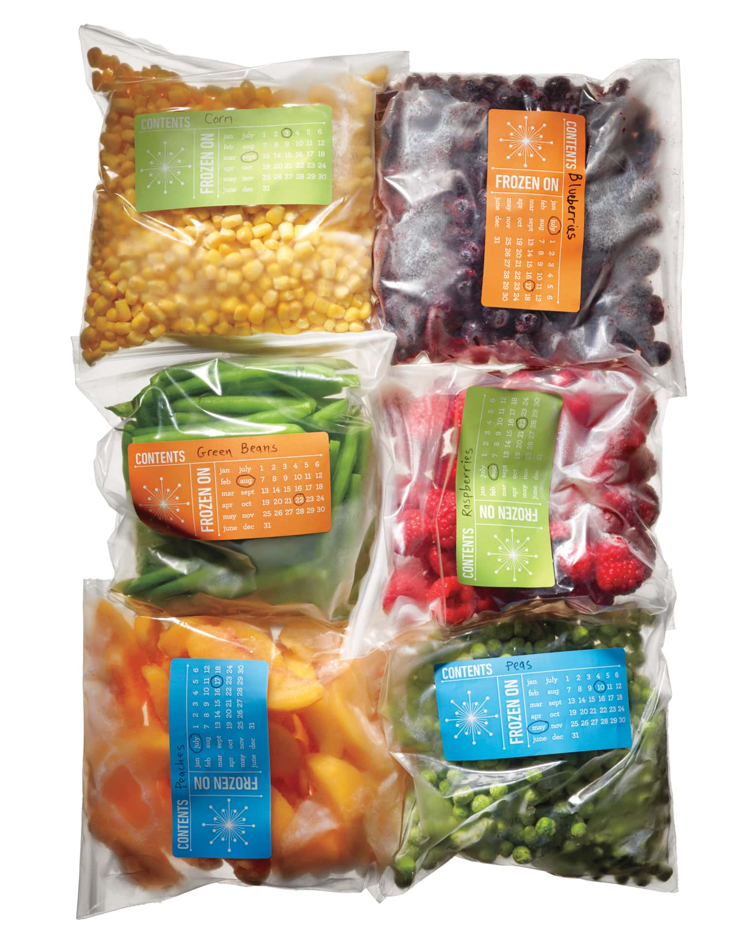 Freezer Labels to Print