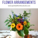 Make your own Pumpkin Flower Arrangements