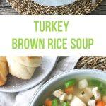 Turkey Brown Rice Soup