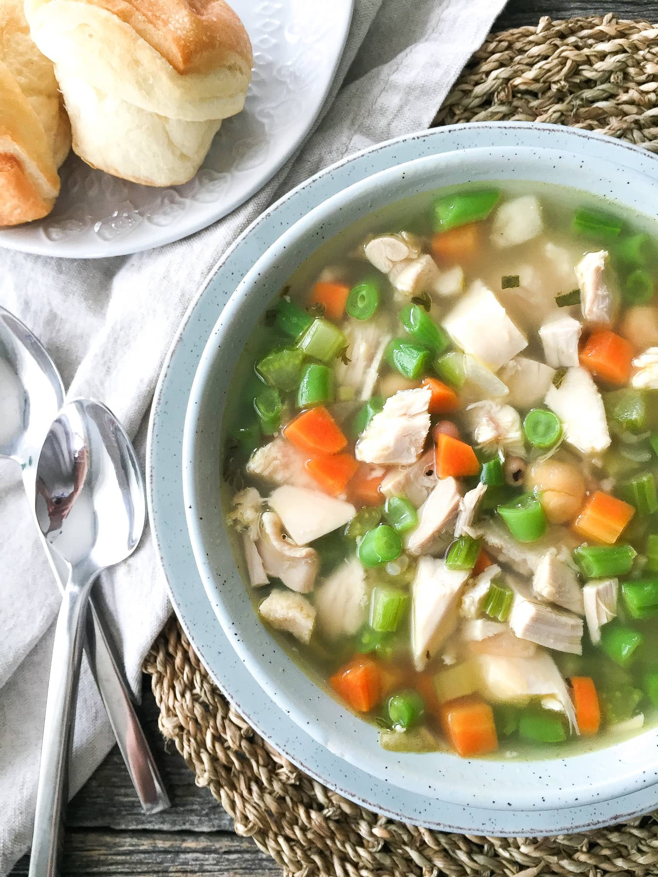 Turkey Brown Rice Soup