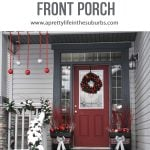 Festive Holiday Front Porch