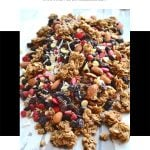 Brown Sugar Baked Granola (or Trail Mix)