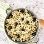 Bowl of Bows Pasta Salad