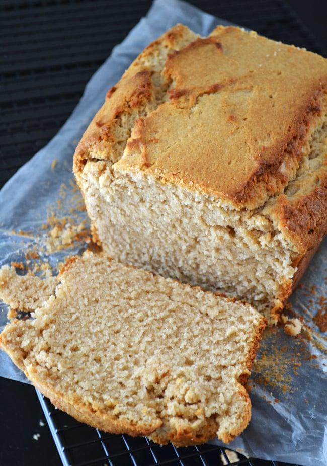 Peanut Butter Bread {A Pretty Life}