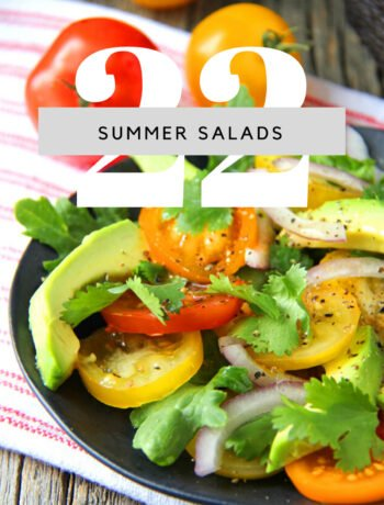22+ Summer Salad Recipes Feature