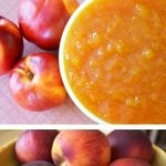 Easy 3 Ingredient Peach Jam