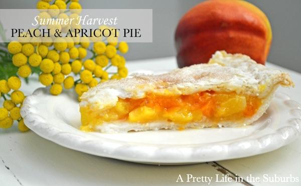 Peach Apricot Pie