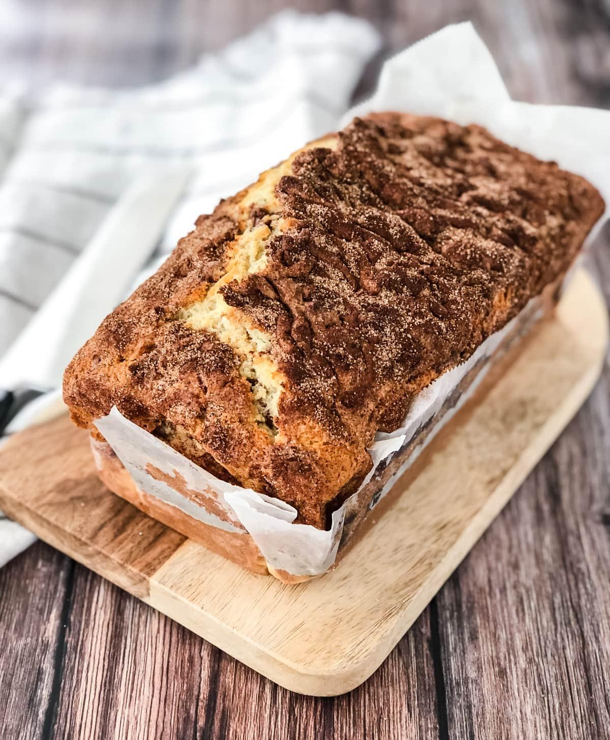 Cinnamon Swirl Loaf