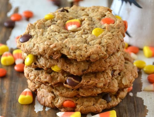 Monster Cookies  {A Pretty Life}Feature