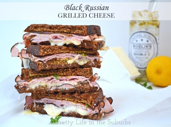 Black Russian Grilled Cheese