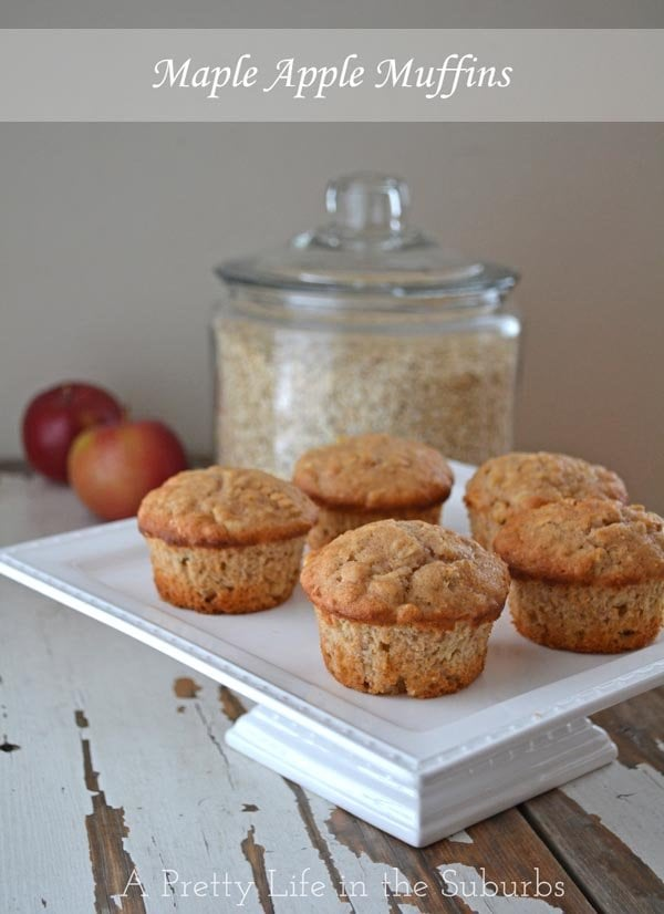 Maple Apple Muffins