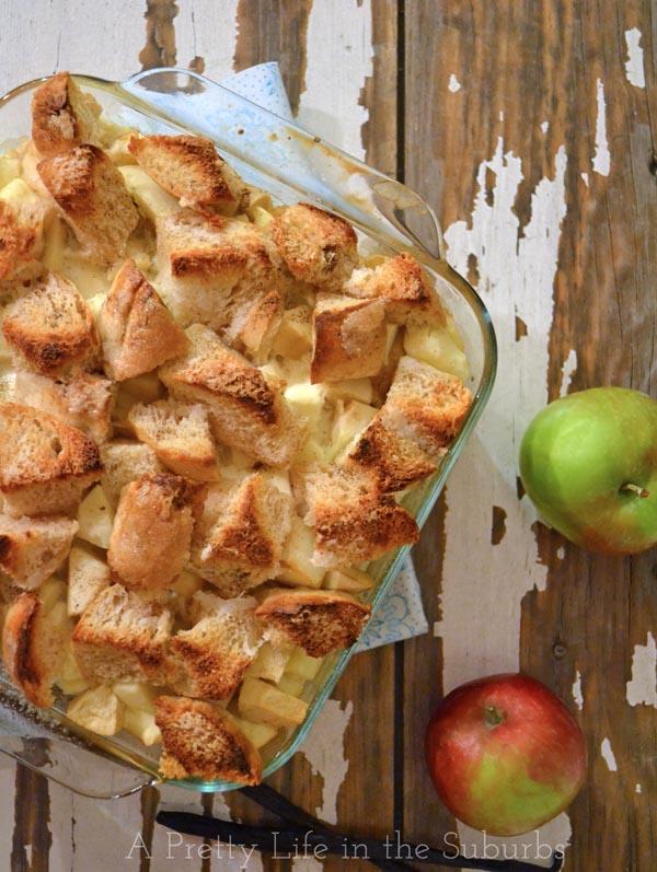 Vanilla Bean Apple French Toast