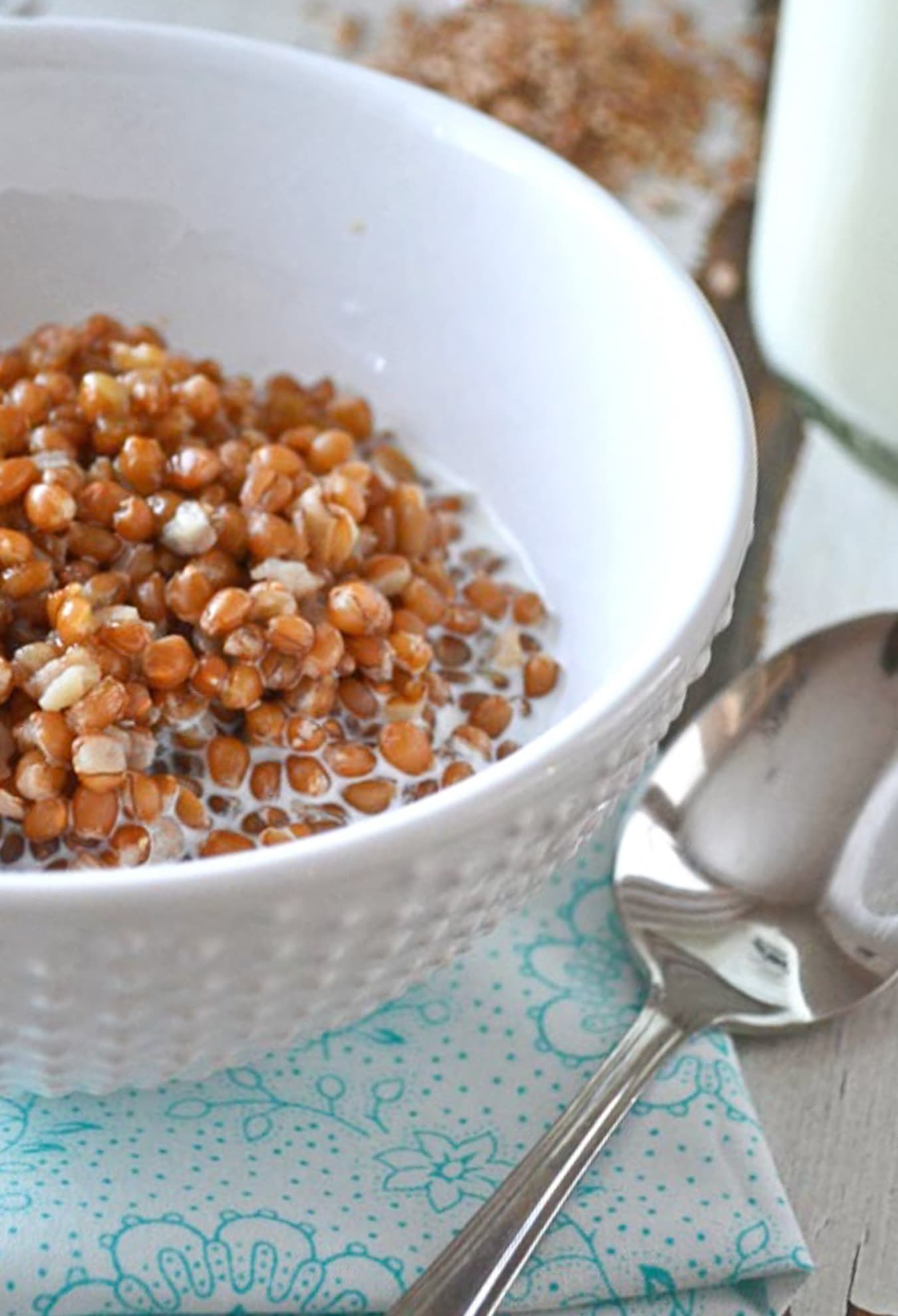 Wheat Berry Cereal