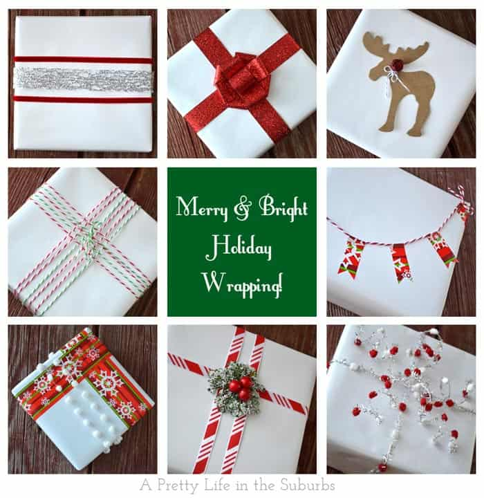 Holiday Gift Wrapping Ideas: Merry & Bright!