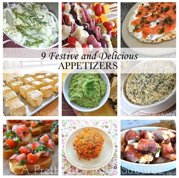 9 Festive Appetizers