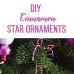 DIY Cinnamon Star Ornaments