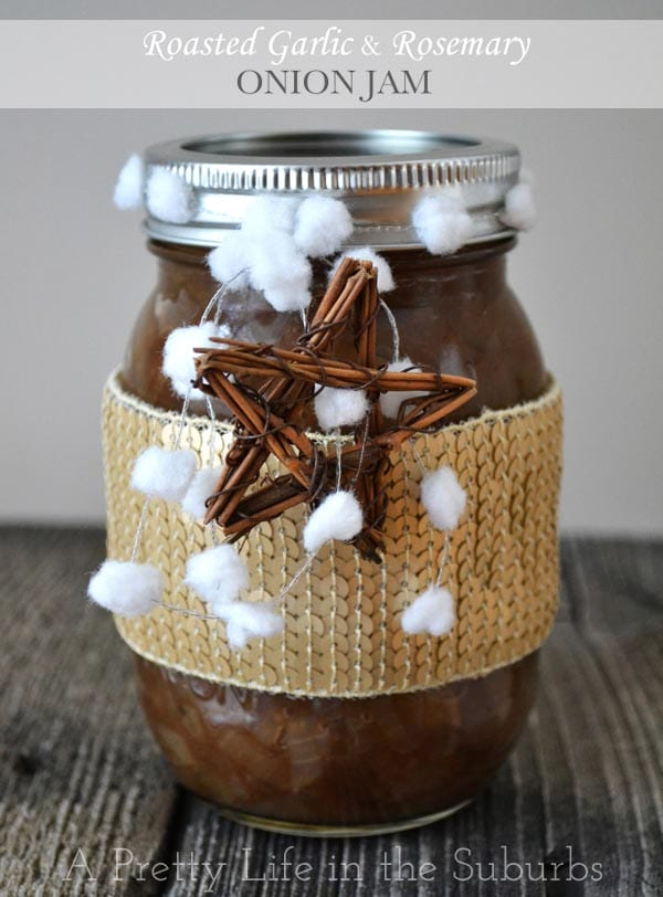 Roasted Garlic & Rosemary Onion Jam