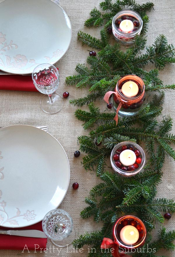 Simple Pretty Christmas Centrepieces A Life In The Suburbs