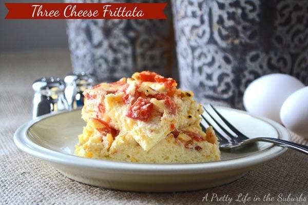 Three Cheese Frittata