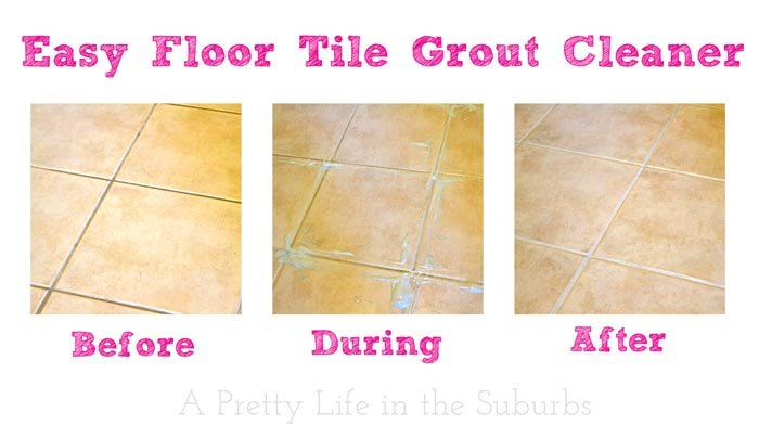 Easy Floor Tile Grout Cleaner A