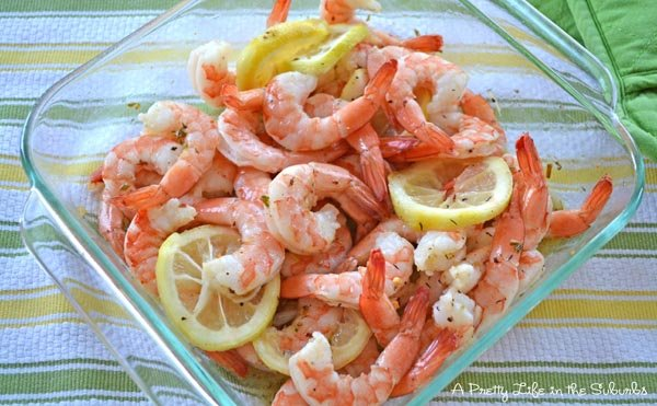 What's For Dinner? Roasted Lemon Garlic Shrimp - A Pretty Life In The ...