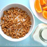 Coconut Honey Granola1