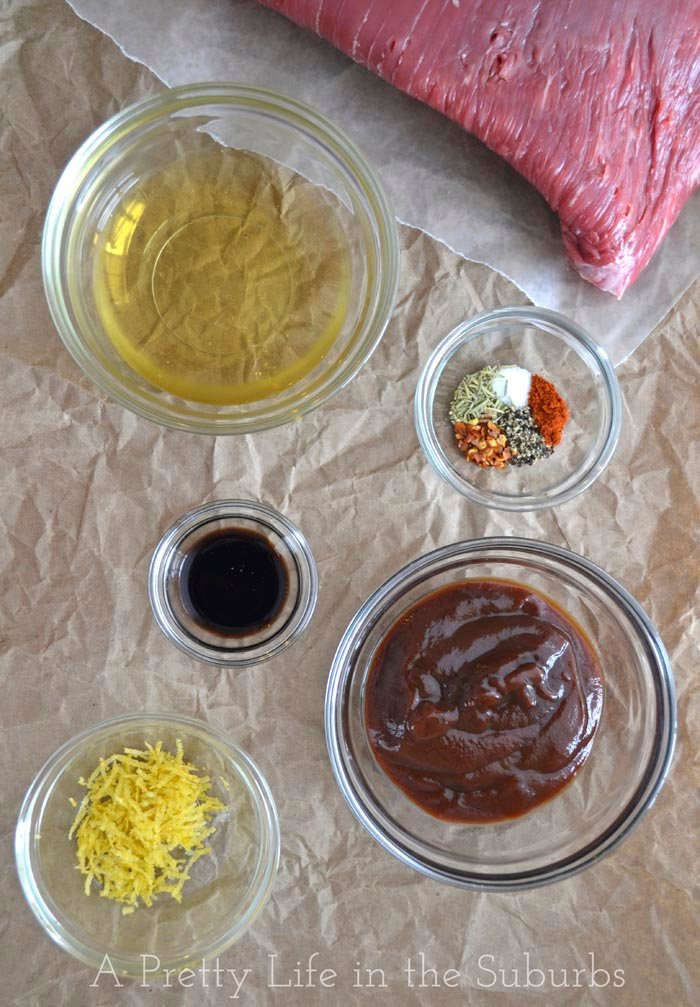 BBQ Flank Steak Marinade