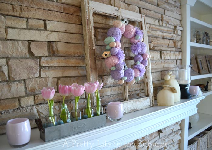 My Easter Mantel A Pretty Life In The Suburbs – Easter Mantel Decorations