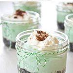 Mini No-Bake Grasshopper Pies