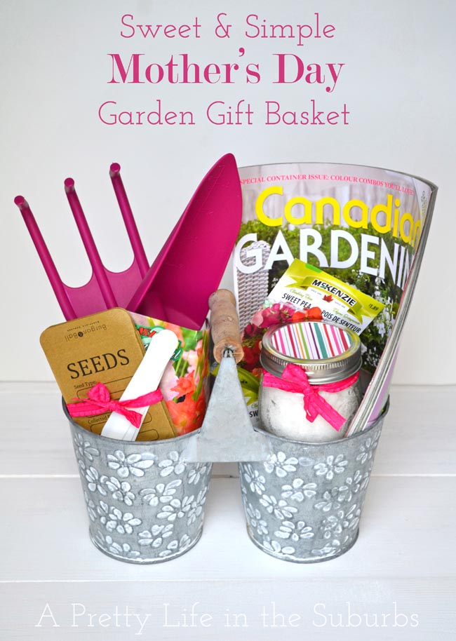 Sweet & Simple Mother's Day Garden Gift Basket