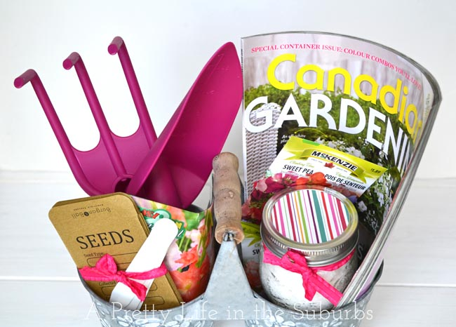 Gardening Gift Basket Ideas find this pin and more on gardening gift basket Save