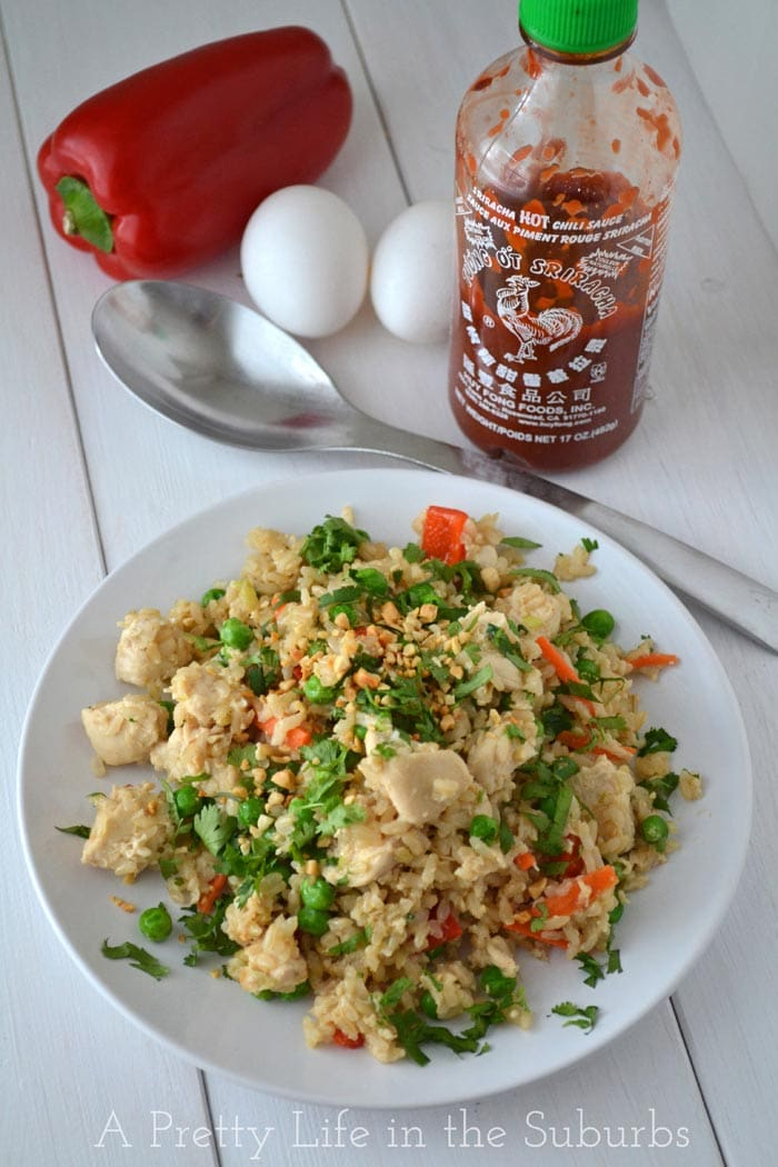 Thai Fried Rice A Pretty Life In The Suburbs