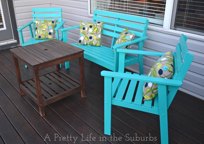 Painting Deck Furniture